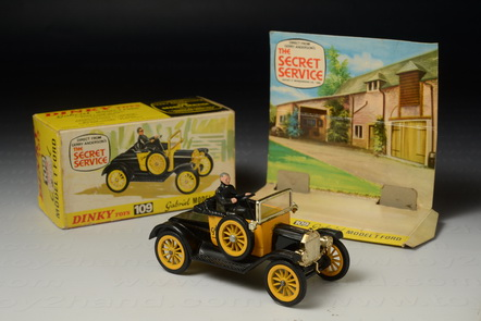 Gabriel Model T ford (from The Secret Service TV.Series)