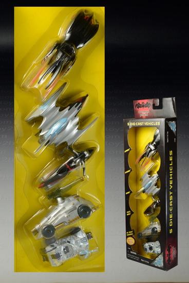 Batman  Robin 5 Diecast Vehicles