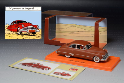 1949 Buick Roadmaster (Tintin Car), Edition Atlas no.2 528 005