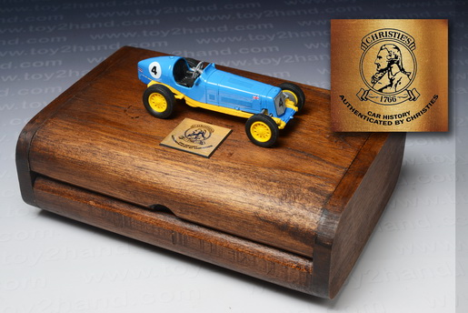 1935 E.R.A. R1B B.Bira Racing Car, Matchbox Model of Yesteryear no.Y-14D 1