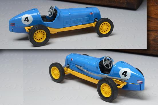 1935 E.R.A. R1B B.Bira Racing Car, Matchbox Model of Yesteryear no.Y-14D 4