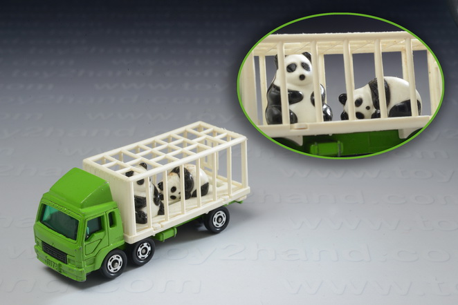 Mitsubishi Fuso animal Truck (panda), Tomica no.7(76)