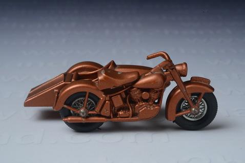 Harley Davidson Motorcycle and Sidecar 1