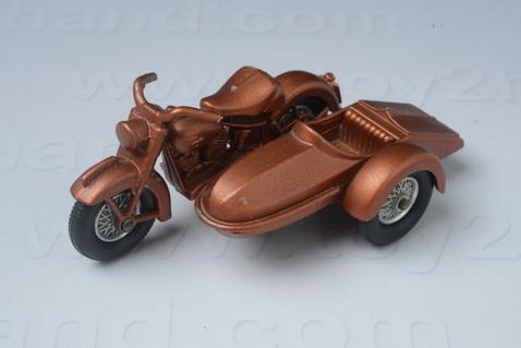 Harley Davidson Motorcycle and Sidecar 2