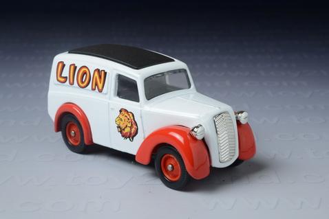 รถเหล็ก 1950 Morris Z Van (Lion)