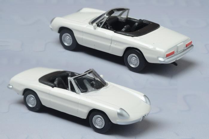 รถเหล็ก Kyosho- 1970 Alfa Romeo 1750 Spider Velooe 1