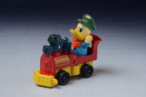 รถเหล็ก Tomica No.PD-4 – Donald Duck Locomotive