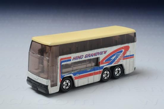 รถเหล็ก Tomica No.1 Hino Grandview