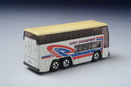 รถเหล็ก Tomica No.1 Hino Grandview 1