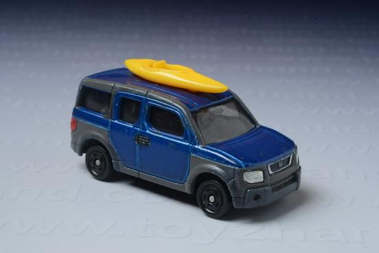 รถเหล็ก Tomica No.107 Honda Element (With Boat)
