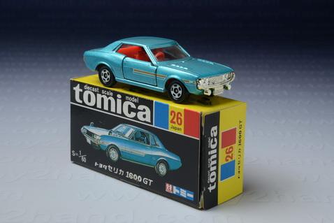 รถเหล็ก Tomica No.26 Toyota Celica 1600 GT (30 Years Anniversary)