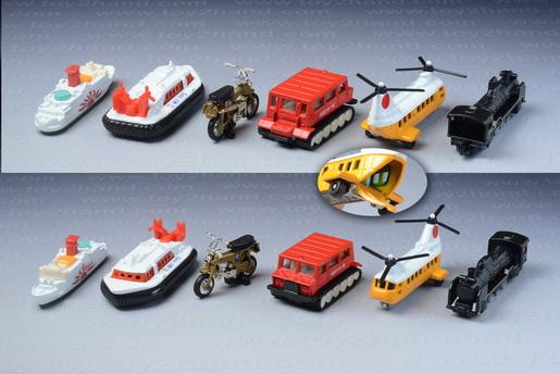 รถเหล็ก Tomica Vehicles (Gift Set in 1999) 1