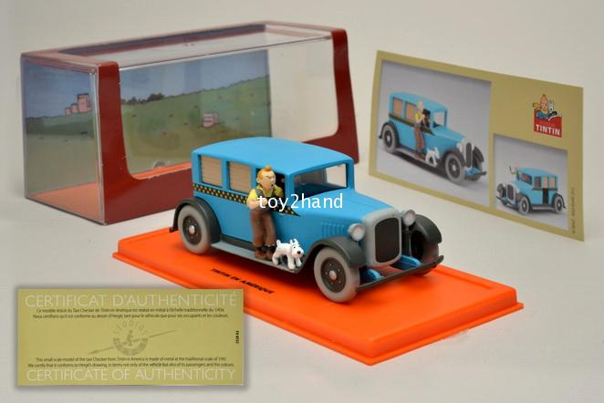Taxi Checker 1929 (Tintin car)