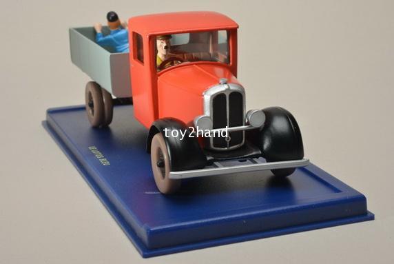 Miesse Truck 1933 (Tintin car) 1