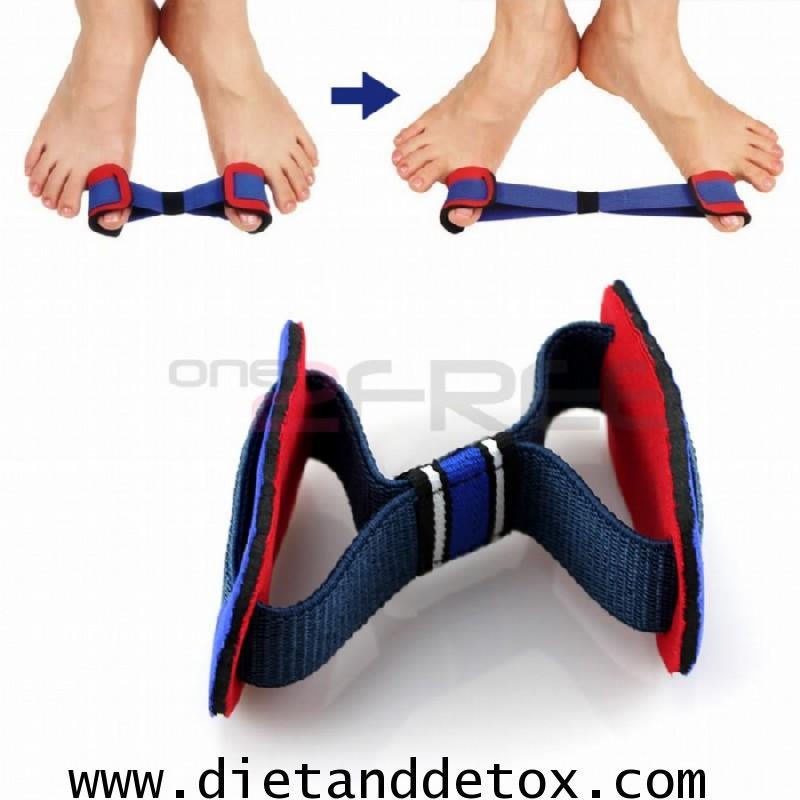 สายรัดสำหรับบริหารนิ้วเท้าผิดรูป นิ้วเท้าเก เอียง ทับซ้อนกัน