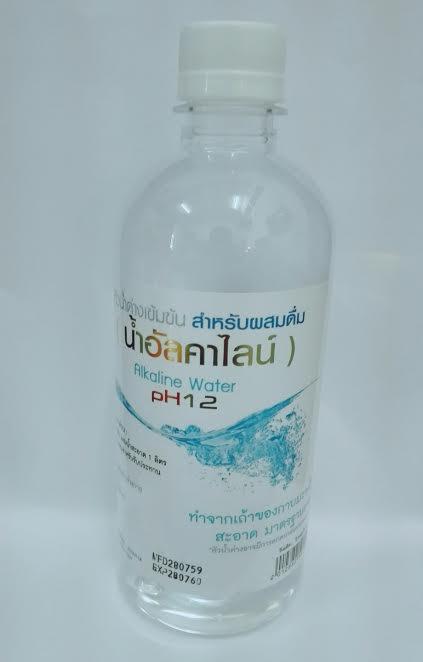 หัวน้ำด่างเข้มข้น สำหรับผสมดื่่ม(น้ำอัลคาไลน์)Alkaline Water