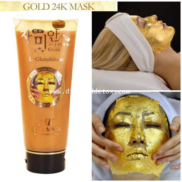 L-Glutathione 24k Gold Mask มาร์กหน้าทองคำเคล็ดลับสาวพันปีของพระนางคลีโอพัตรา