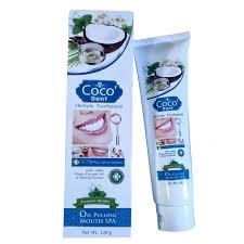 ยาสีฟันโคโคเด็นท์ ยาสีฟันออยส์พูลลิ่งและสปาปาก นวัตกรรมใหม่ของยาสีฟัน