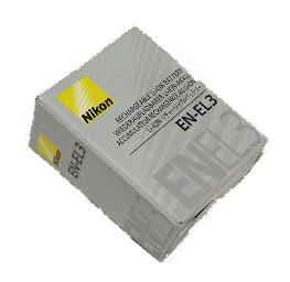 Nikon EN-EL3e สำหรับรุ่น D50, D70, D70s, D80, D100 และ D200