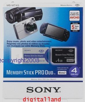 Sony Duo 4 GB Mark2 รุ่นใหม่รองรับไฟล์ AVCHD ที่อุปกรณ์สามารถรองรับได้ ขอย้ำโซนี่แท้100