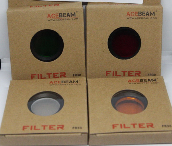 Acebeam FR30 ฟิลเตอร์สีสำหรับรุ่น L16/EC50/EC60