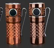 KLARUS Mi1C Copper รุ่นพิเศษ เพื่อบุคคลพิเศษ EDC ขนาดเล็กจิ๋ว สว่างสูงสุด 600 lumens