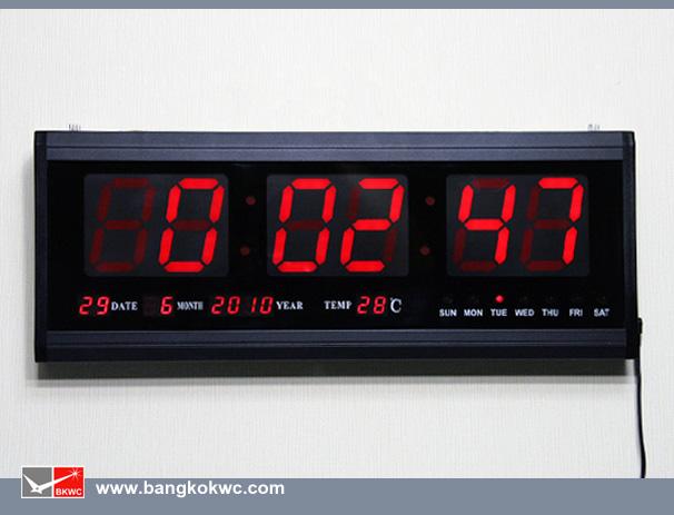 LED CLOCK DIGITAL : HOTAI HT4819SM (แสงสีแดง)