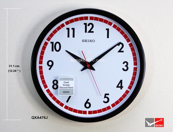 นาฬิกาแขวน SEIKO CLOCK QXA476J (12นิ้ว)