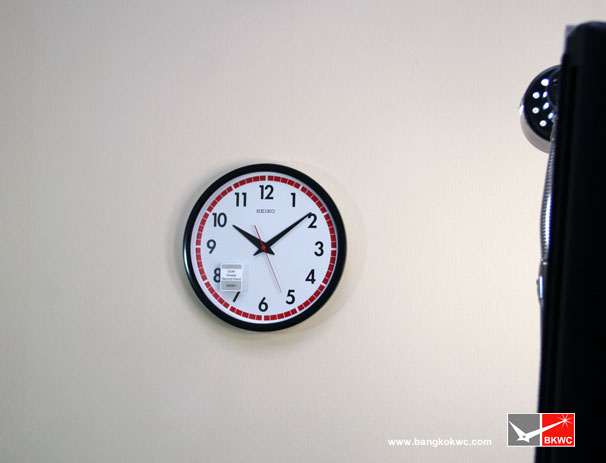 นาฬิกาแขวน SEIKO CLOCK QXA476J (12นิ้ว) 4