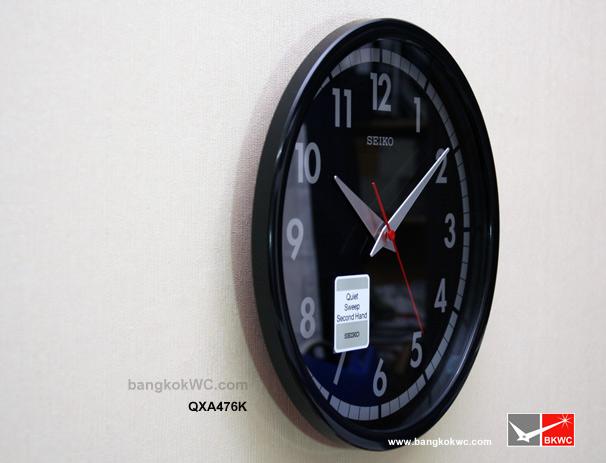 นาฬิกาแขวน SEIKO CLOCK QXA476K (12นิ้ว) 2
