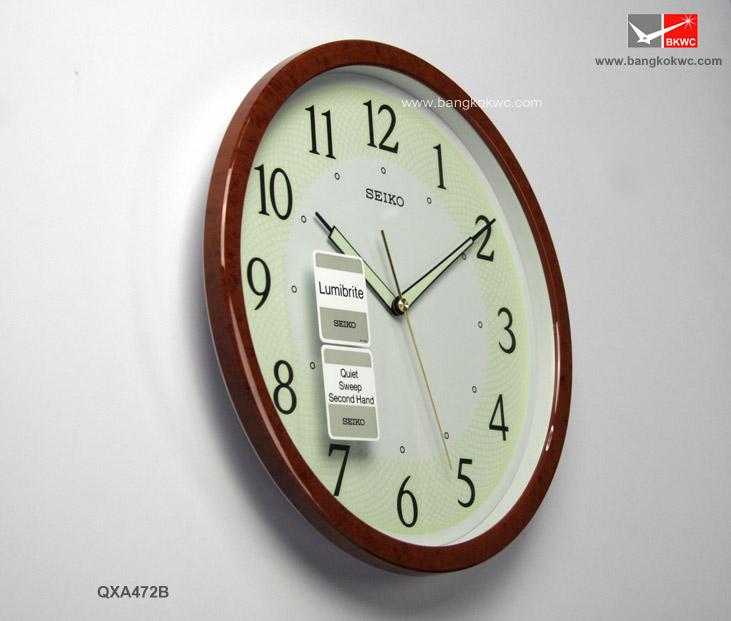 นาฬิกาแขวน SEIKO CLOCK QXA472B (12 นิ้ว) 1