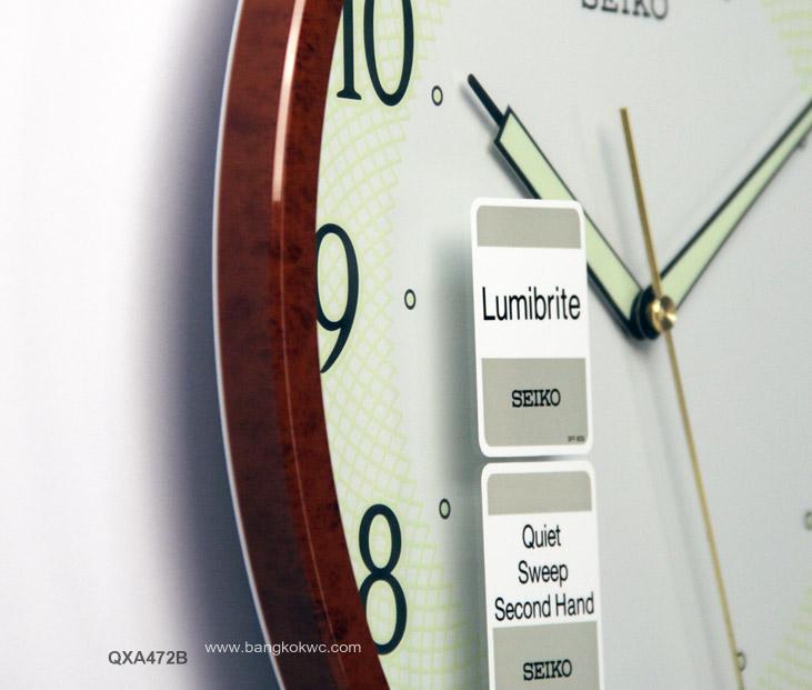 นาฬิกาแขวน SEIKO CLOCK QXA472B (12 นิ้ว) 2