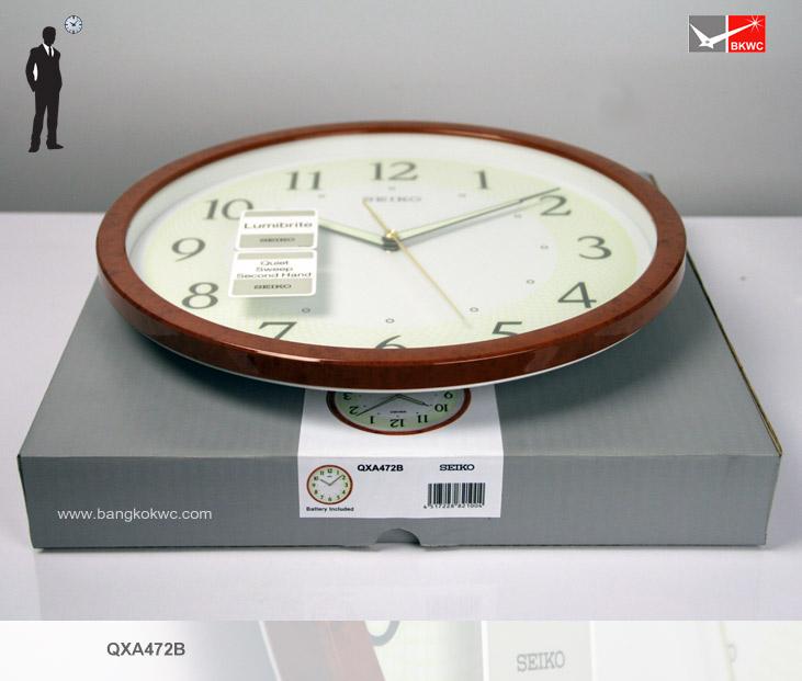 นาฬิกาแขวน SEIKO CLOCK QXA472B (12 นิ้ว) 4