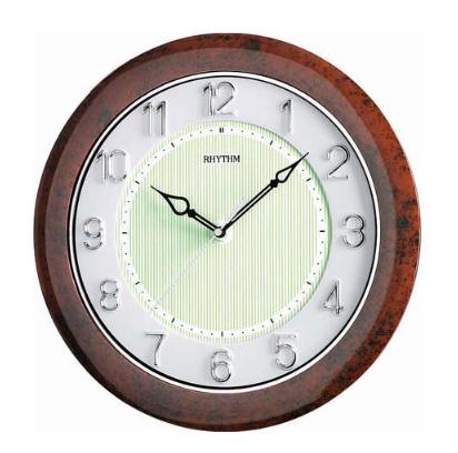 นาฬิกาแขวน RHYTHM CMG435NR06  (12.4 นิ้ว)