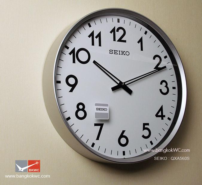 นาฬิกาแขวน SEIKO Office Standard Clock QXA560S (ขนาด16.5 นิ้ว) 1