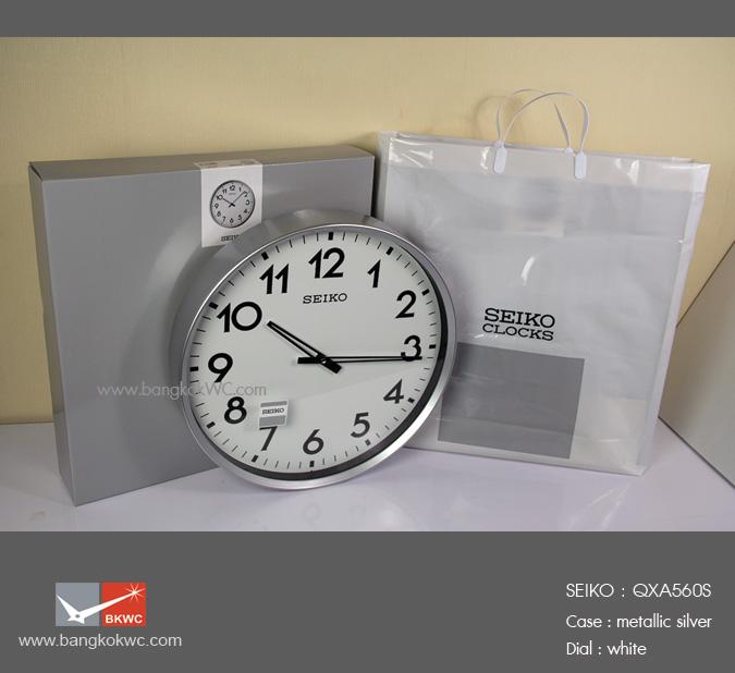 นาฬิกาแขวน SEIKO Office Standard Clock QXA560S (ขนาด16.5 นิ้ว) 4