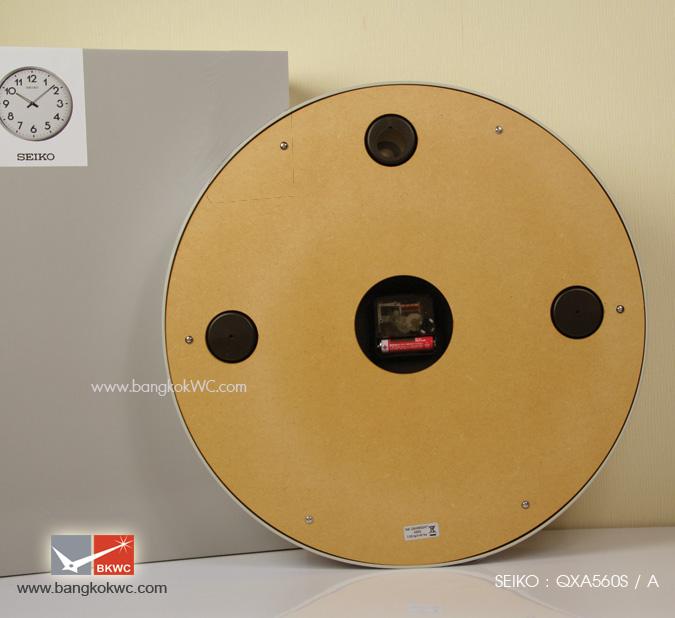 นาฬิกาแขวน SEIKO Office Standard Clock QXA560S (ขนาด16.5 นิ้ว) 3
