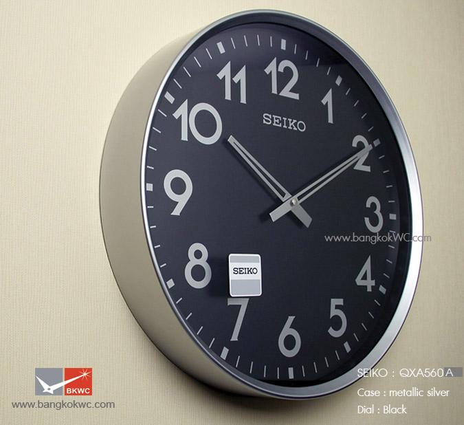 นาฬิกาแขวน SEIKO Office Standard Clock QXA560A  (ขนาด16.5 นิ้ว) 1
