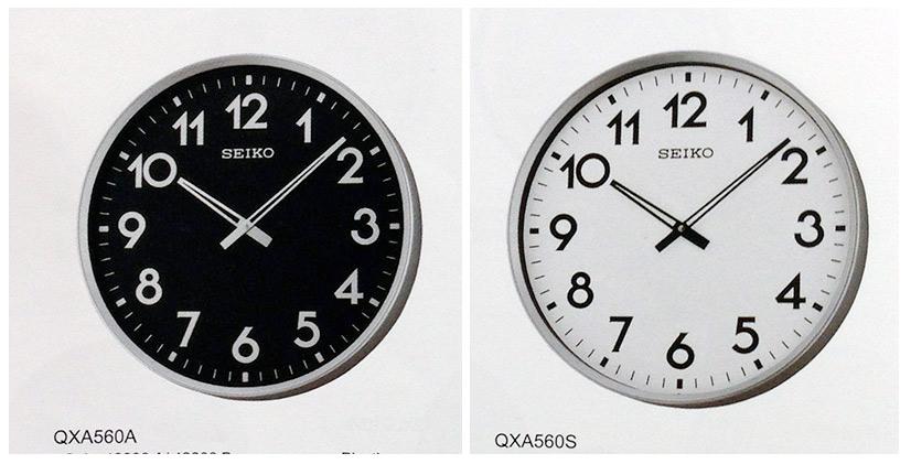 นาฬิกาแขวน SEIKO Office Standard Clock QXA560S (ขนาด16.5 นิ้ว) 5