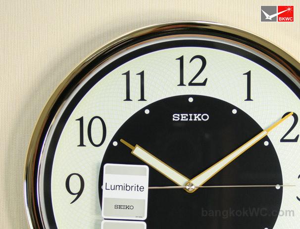 นาฬิกาแขวน SEIKO CLOCK QXA472G (12 นิ้ว) (มีสต๊อค จำนวน 1 เรือน) 2