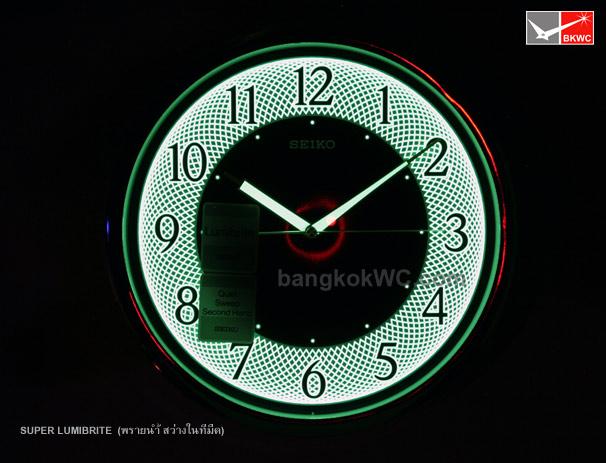 นาฬิกาแขวน SEIKO CLOCK QXA472G (12 นิ้ว) (มีสต๊อค จำนวน 1 เรือน) 3