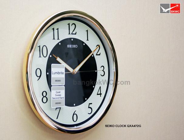นาฬิกาแขวน SEIKO CLOCK QXA472G (12 นิ้ว) (มีสต๊อค จำนวน 1 เรือน) 1