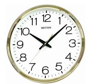 นาฬิกาแขวน RHYTHM CMG494BR18 (Gold)