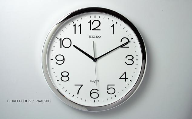 นาฬิกาแขวน SEIKO Office Standard Clock  PAA020S (14นิ้ว) (มีสินค้าพร้อมส่ง) 3