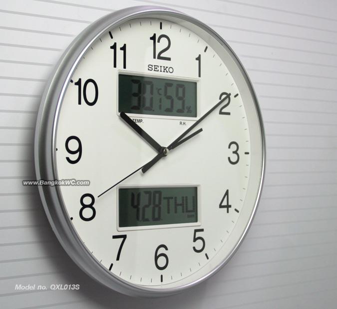 WALL CLOCK SEIKO QXL013S 1