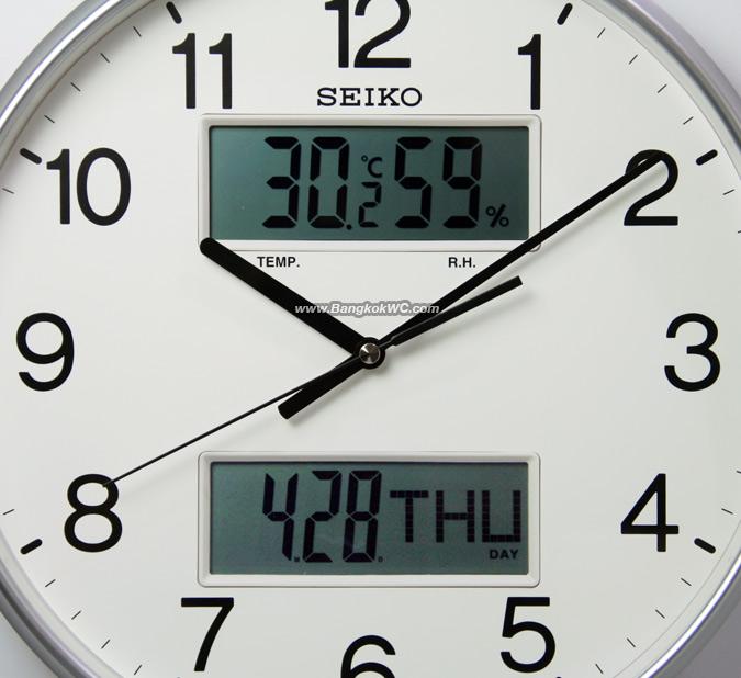 WALL CLOCK SEIKO QXL013S 3