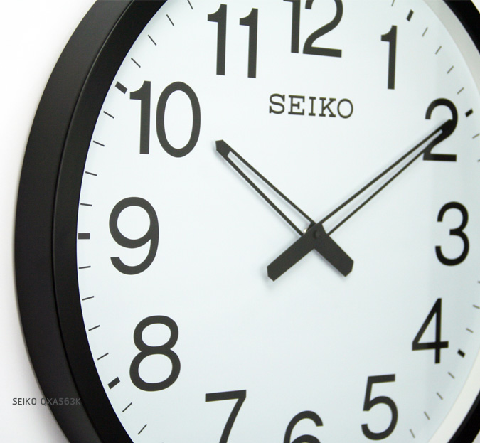 SEIKO CLOCK QXA563K (20 นิ้ว ) 2