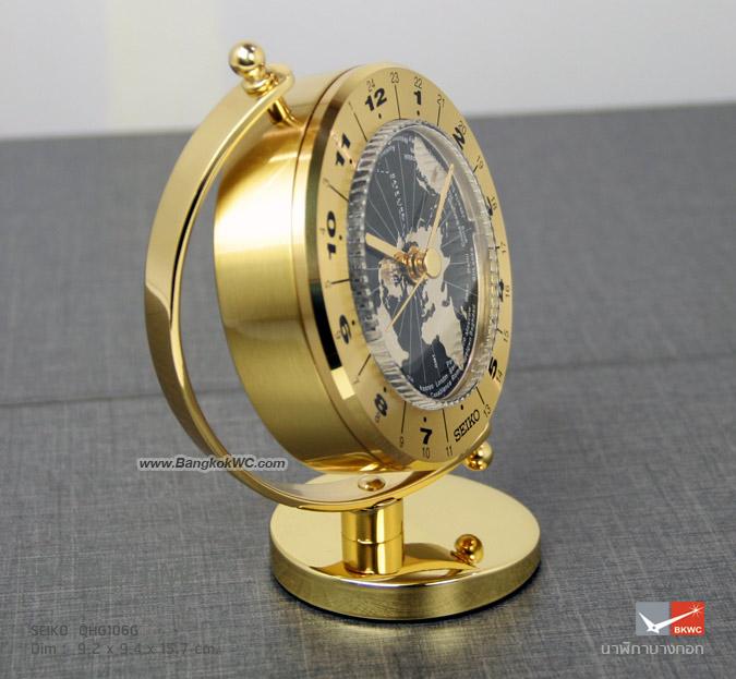 นาฬิกาตั้งโต๊ะ SEIKO QHG106G 2