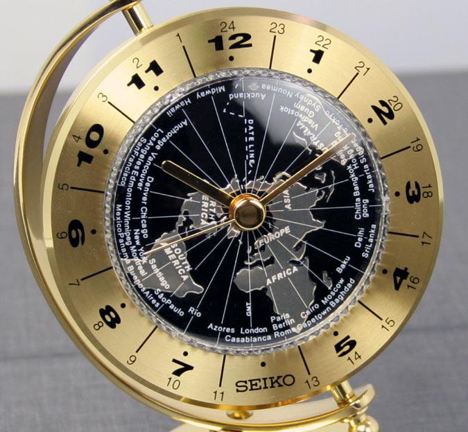 นาฬิกาตั้งโต๊ะ SEIKO QHG106G 4
