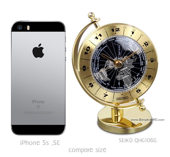 นาฬิกาตั้งโต๊ะ SEIKO QHG106G 7